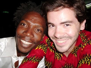 Norbert and I in Ouagadougou