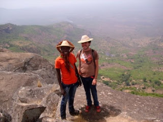 Norbert and I atop the Dame du Mali