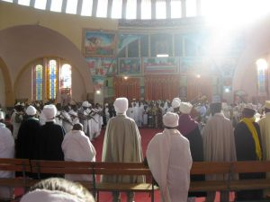 Wedding at the Mariam Tsiyon Church in Aksum