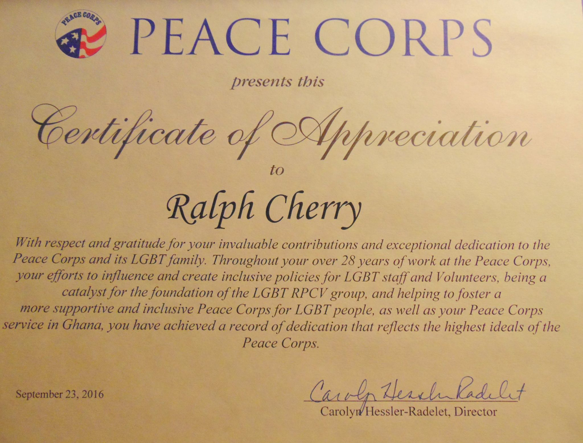 Ghana  Lesbian, Gay, Bisexual, Transgender Returned Peace -8273